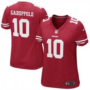 San Francisco 49ers Home Game Jersey - Jimmy Garoppolo - Womens