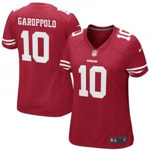 San Francisco 49ers Home Game Jersey - Jimmy Garoppolo - Womens