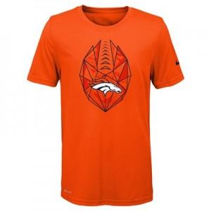 Denver Broncos Nike Dri-Fit Football Icon T-Shirt - Youth