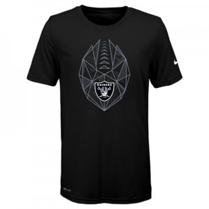 Oakland Raiders Nike Dri-Fit Football Icon T-Shirt - Youth