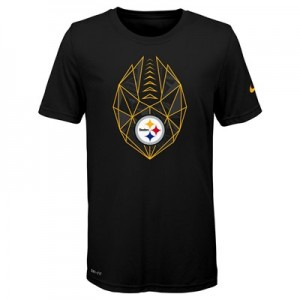 Pittsburgh Steelers Nike Dri-Fit Football Icon T-Shirt - Youth