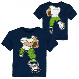 Seattle Seahawks Yard Rush T-Shirt - Infant