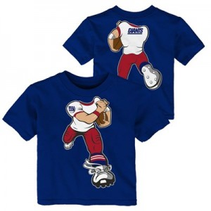 New York Giants Yard Rush T-Shirt - Toddler