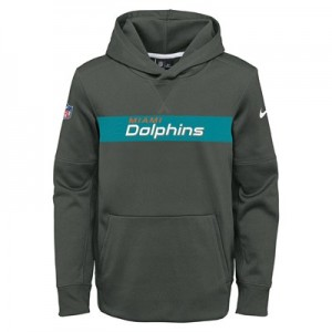 Miami Dolphins Nike Therma Hoodie PO - Youth