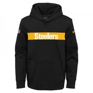Pittsburgh Steelers Nike Therma Hoodie PO - Youth