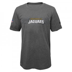 Jacksonville Jaguars Nike Dri-Fit Onfield Legend T-Shirt - Youth