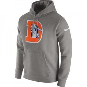 Denver Broncos Nike Historic Crackle Hoodie - Mens