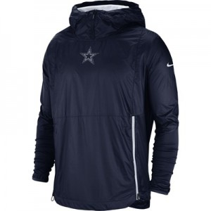 Dallas Cowboys Nike Lightweight Alpha Fly Rush Jacket - Mens