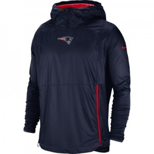 New England Patriots Nike Lightweight Alpha Fly Rush Jacket - Mens