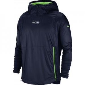 Seattle Seahawks Nike Lightweight Alpha Fly Rush Jacket - Mens
