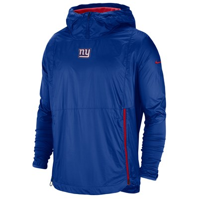 New York Giants Nike Lightweight Alpha Fly Rush Jacket - Mens