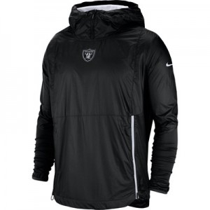 Oakland Raiders Nike Lightweight Alpha Fly Rush Jacket - Mens