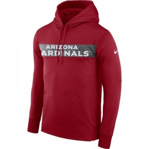 Arizona Cardinals Nike Therma Hoodie PO - Mens