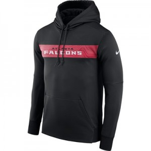 Atlanta Falcons Nike Therma Hoodie PO - Mens