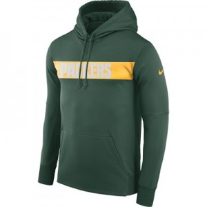Green Bay Packers Nike Therma Hoodie PO - Mens