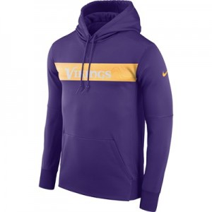 Minnesota Vikings Nike Therma Hoodie PO - Mens