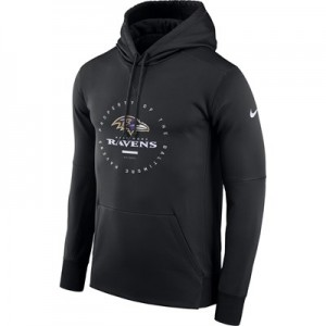 Baltimore Ravens Nike Property Of Therma Hoodie - Mens