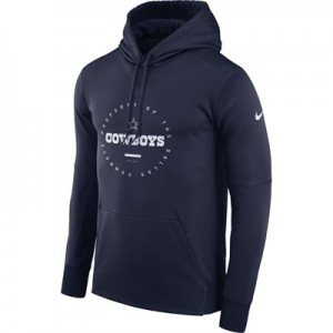 Dallas Cowboys Nike Property Of Therma Hoodie - Mens