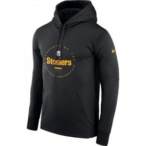 Pittsburgh Steelers Nike Property Of Therma Hoodie - Mens