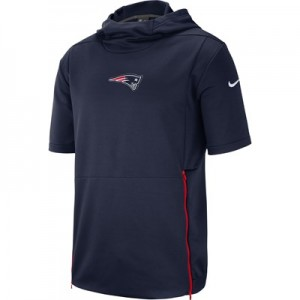 New England Patriots Nike Therma Top - Mens