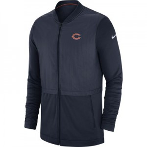 Chicago Bears Nike FZ Elite Hybrid Jacket - Mens