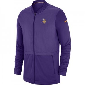 Minnesota Vikings Nike FZ Elite Hybrid Jacket - Mens