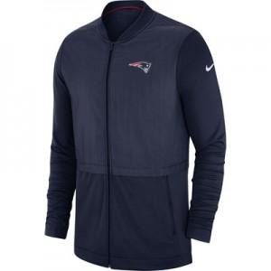 New England Patriots Nike FZ Elite Hybrid Jacket - Mens