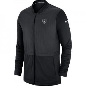 Oakland Raiders Nike FZ Elite Hybrid Jacket - Mens
