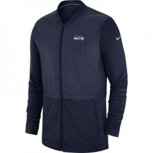 Seattle Seahawks Nike FZ Elite Hybrid Jacket - Mens