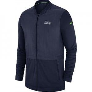 Seattle Seahawks Nike FZ Elite Hybrid Jacket - Mens
