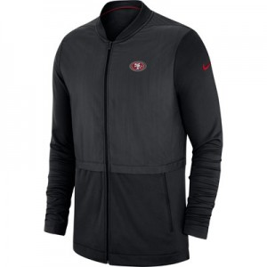 San Francisco 49ers Nike FZ Elite Hybrid Jacket - Mens
