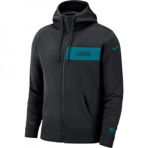 Jacksonville Jaguars Nike FZ Fleece Club Hoodie - Mens