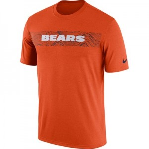 Chicago Bears Nike Dri-Fit Onfield Legend Seismic T-Shirt - Mens