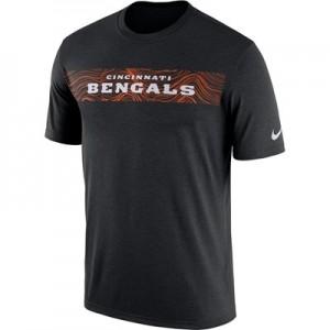 Cincinnati Bengals Nike Dri-Fit Onfield Legend Seismic T-Shirt - Mens
