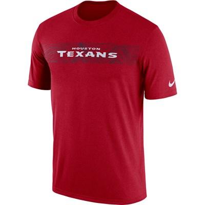 Houston Texans Nike Dri-Fit Onfield Legend Seismic T-Shirt - Mens