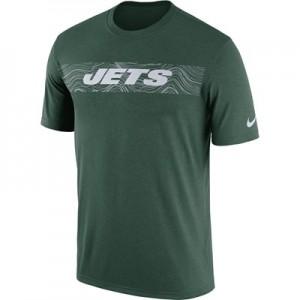 New York Jets Nike Dri-Fit Onfield Legend Seismic T-Shirt - Mens