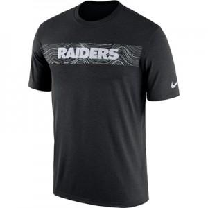 Oakland Raiders Nike Dri-Fit Onfield Legend Seismic T-Shirt - Mens