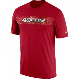 San Francisco 49ers Nike Dri-Fit Onfield Legend Seismic T-Shirt - Mens