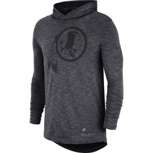 Washington Redskins Nike LS Slub Hoodie T-Shirt - Mens