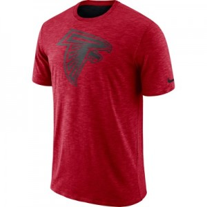 Atlanta Falcons Nike Dri-Fit Legend Slub On-Field T-Shirt - Mens