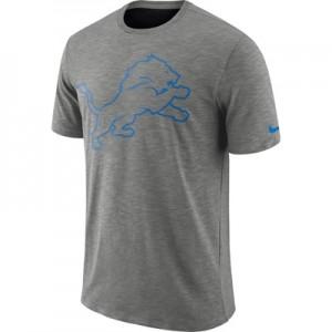 Detroit Lions Nike Dri-Fit Legend Slub On-Field T-Shirt - Mens