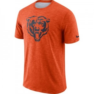 Chicago Bears Nike Dri-Fit Legend Slub On-Field T-Shirt - Mens