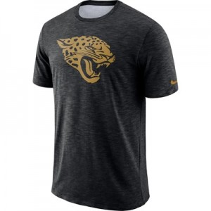 Jacksonville Jaguars Nike Dri-Fit Legend Slub On-Field T-Shirt - Mens