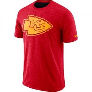 Kansas City Chiefs Nike Dri-Fit Legend Slub On-Field T-Shirt - Mens