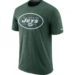 New York Jets Nike Dri-Fit Legend Slub On-Field T-Shirt - Mens