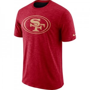 San Francisco 49ers Nike Dri-Fit Legend Slub On-Field T-Shirt - Mens