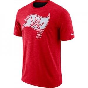 Tampa Bay Buccaneers Nike Dri-Fit Legend Slub On-Field T-Shirt - Mens
