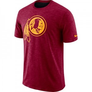 Washington Redskins Nike Dri-Fit Legend Slub On-Field T-Shirt - Mens
