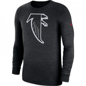Atlanta Falcons Nike Tri Historic Crackle Long Sleeve T-Shirt - Mens
