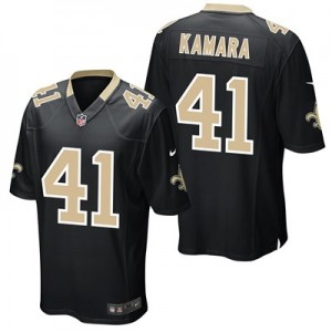 New Orleans Saints Home Game Jersey - Alvin Kamara